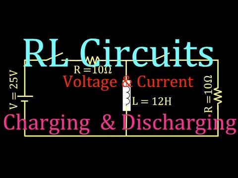 RL Circuits (5 of 8) Inductor Charging & Discharging, An Explanation, Part 2