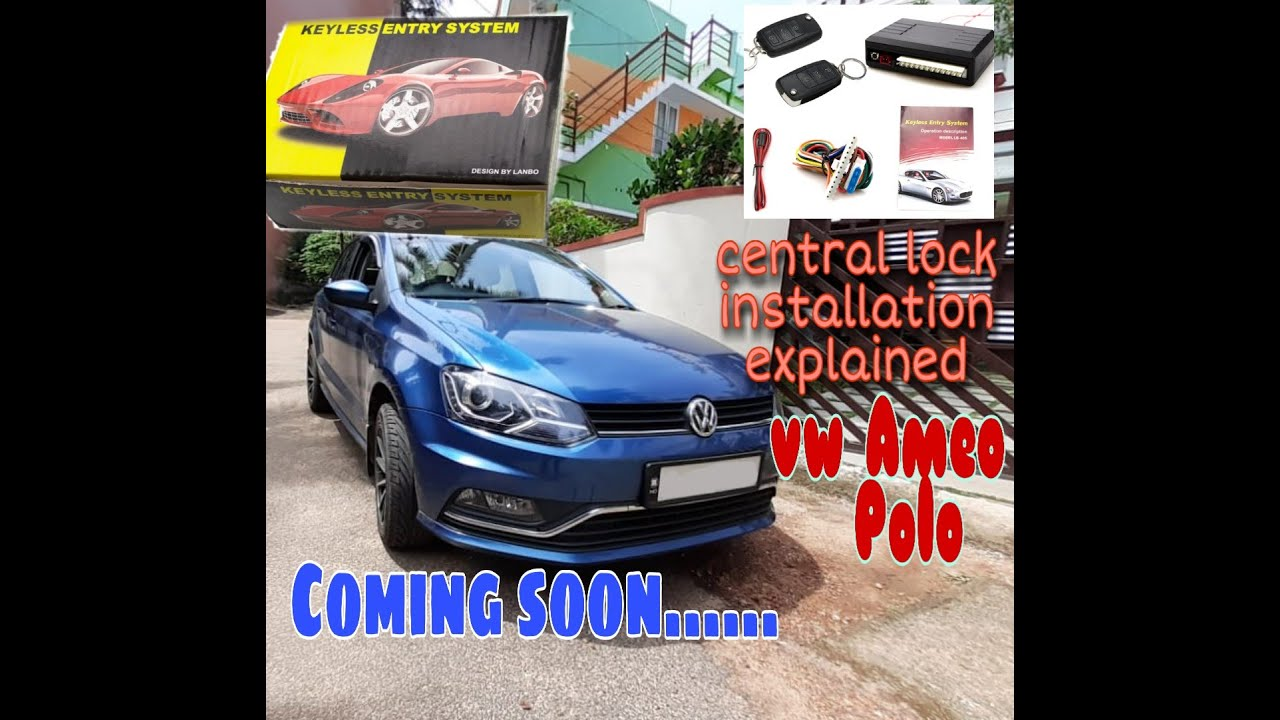 Volkswagen Ameo   Polo Aftermarket Central Lock