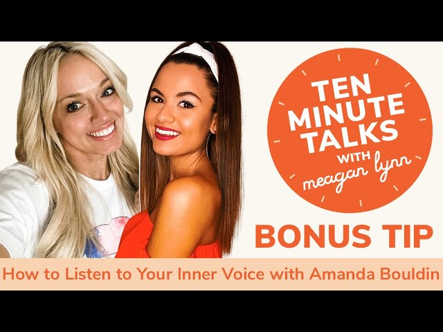 How to Listen to Your Inner Voice with TikTok's Amanda Bouldin