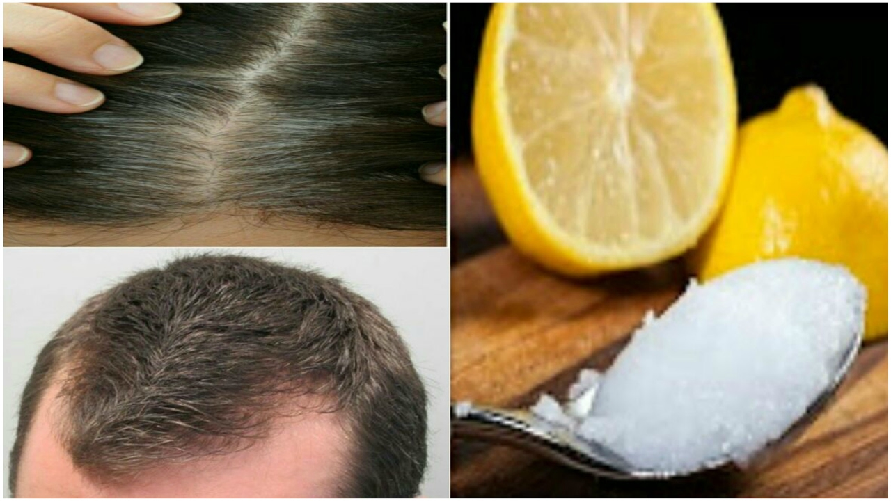 Coconut Oil And Lemon Mixture It Controls Hair Fall