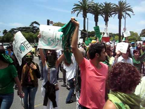 Where is my Vote? Iranian protesters in Southern California