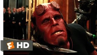 Hellboy 2: The Golden Army (8/10) Movie CLIP - Prince Nuada vs. Hellboy (2008) HD