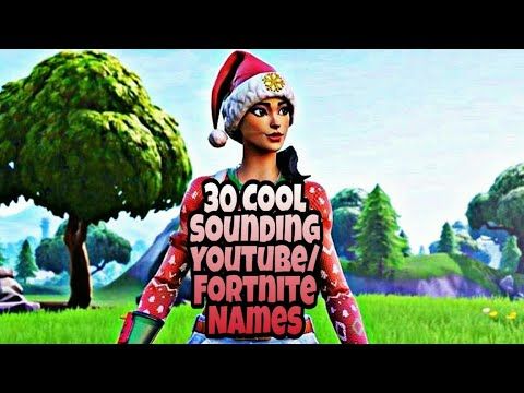 Full Download Clean Cool Sounding Names For Youtube And - cool fortnite youtube names