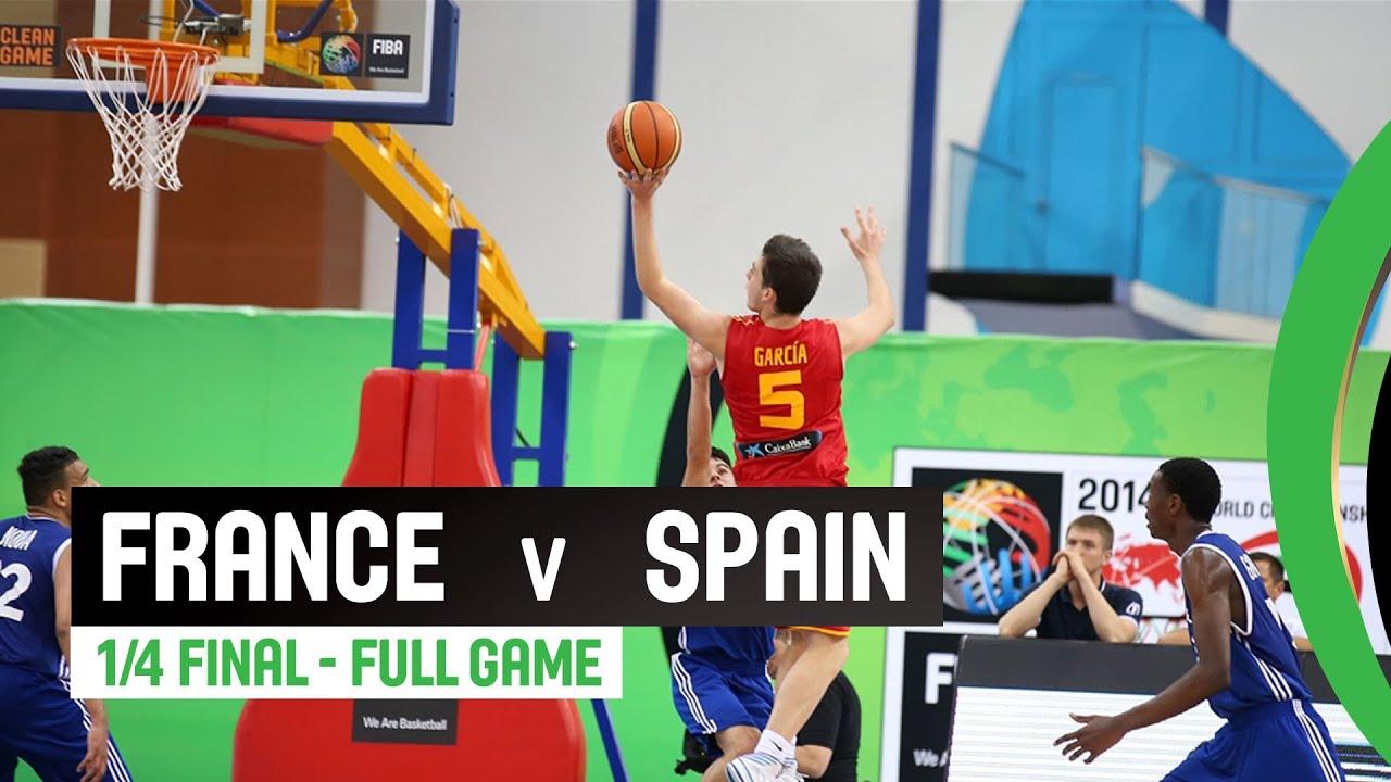 France v Spain - Quarter-Final Full Game