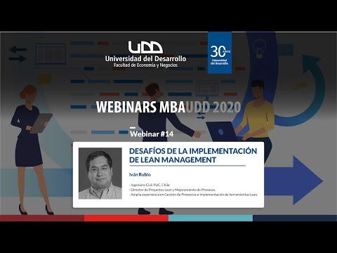 Desafíos de la implementación de Lean Management / Iván Rubio