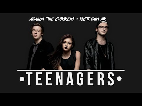 Against The Current - Teenagers Cover (+ MCR guitar)