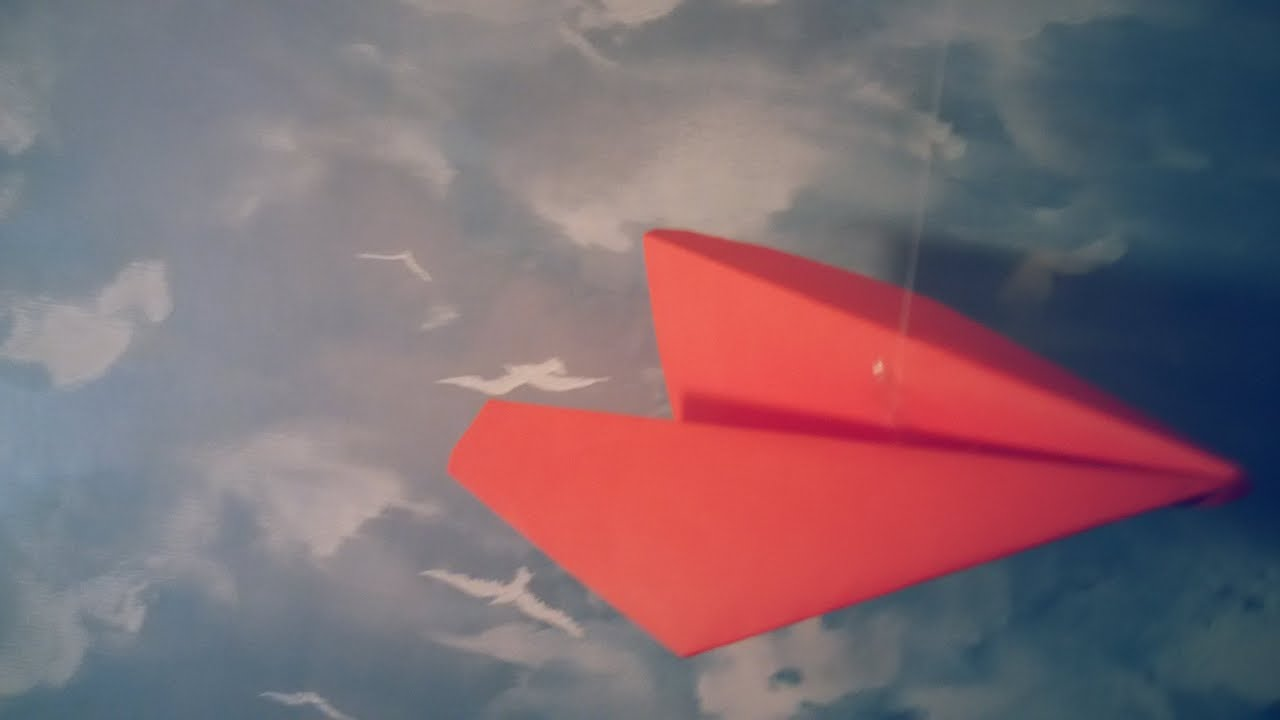 Kağıttan jet uçak yapımı hem de çok kolay