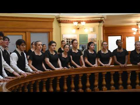 Greenway High School Vocal Ensemble - Carol of The Bells