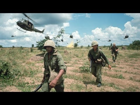 Long cool woman in a black dress - Vietnam War