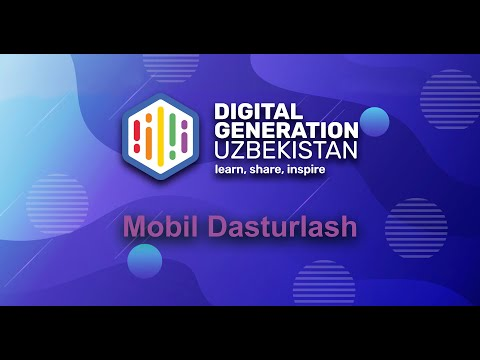 Mobil Dasturlash#1