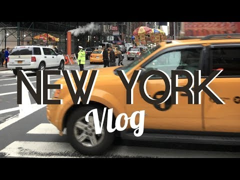 VLOG NEW YORK CITY l DÉCEMBRE 2017