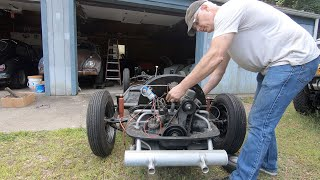 WILL IT RUN ? MUSTIE1 & the 1957 Vw Bug Engine , sitting for years : Will it start ?