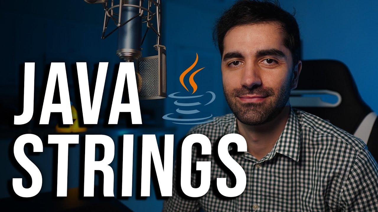 Java Strings Tutorial