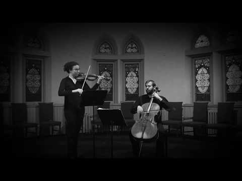 A Postcard to Henry Purcell Violin and Cello Arrangement
