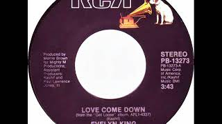 Evelyn 'champagne' King   Love Come Down (dj ''s'' Remix)