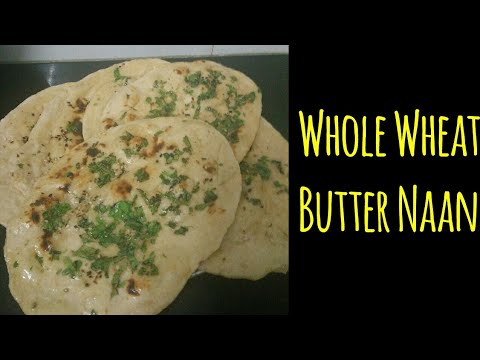How to make naan bread with wheat flour