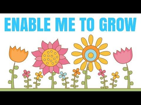 """Enable Me To Grow"" Children's Prayer  ~ Nabil & Nasreen"