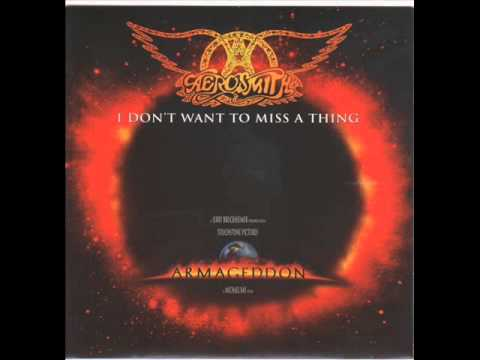 AEROSMITH - I DON'T WANT TO MISS A THING - TASTE OF INDIA