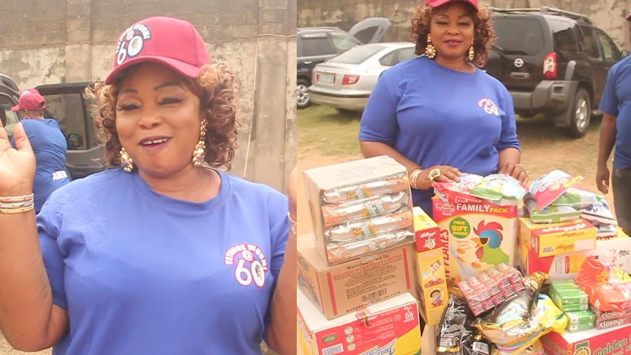 YETUNDE WUNMI GIVE BACK TO THE LESS PRIVILEGED TOWARD HER 60TH BIRTHDAY