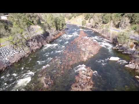 Droning over the Sierra Nevada Foothills