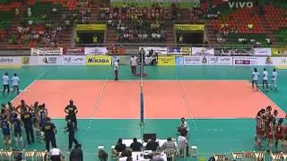 Campeonato Sudamericano de Voleibol Femenino Juvenil 2014 - Match #7: Brasil vs. Chile