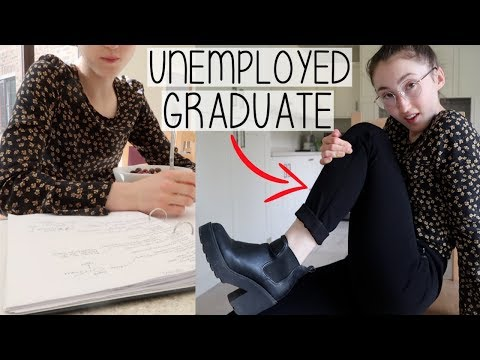 A WEEK IN MY LIFE AS A JOB-HUNTING GRADUATE | FRESH OUT OF UNIVERSITY