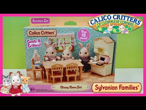 Sylvanian Families Calico Critters Dinner Party Furniture Set