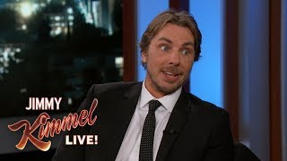 Dax Shepard on Kristen Bell\'s Boobs & Pool Gloves