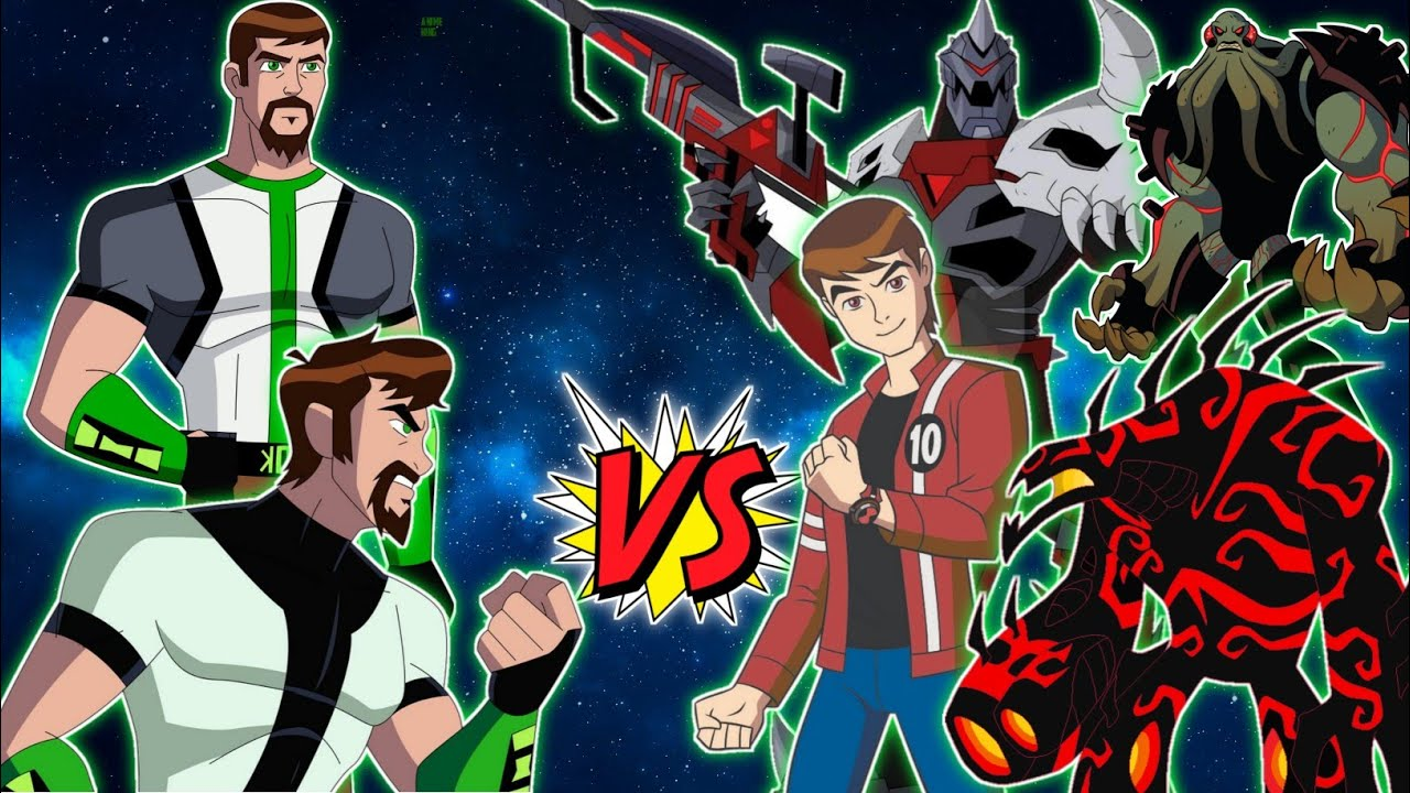 Download Ben 10,000 Vs All Villains Part 1 In Hindi ! Anime King