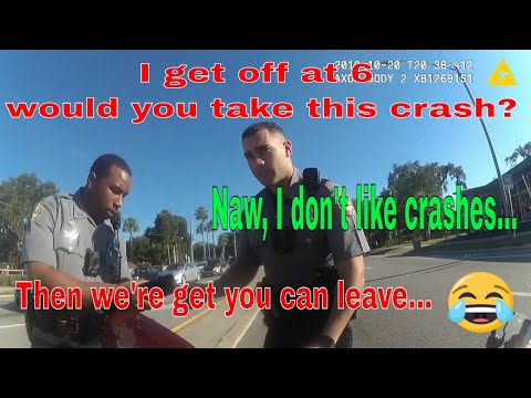 Cop Dismisses Officer After Not Taking A Crash Call At The End Of Shift! Work Drama Caught On Cam:)
