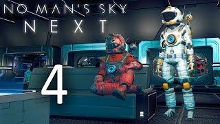 No Man's Sky NEXT - Кооператив - Раскапываем технологии, Космическая станция [#4] | PC
