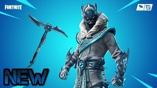 *NEW* FORTNITE SNOWFOOT SKIN! ALL MY SKINS WITH THE NEW SNOW STAR BACKBLING (SICK COMBOS!!)