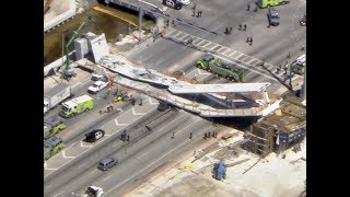 🔴Pedestrian Bridge Collapses at Florida International University - LIVE BREAKING NEWS COVERAGE