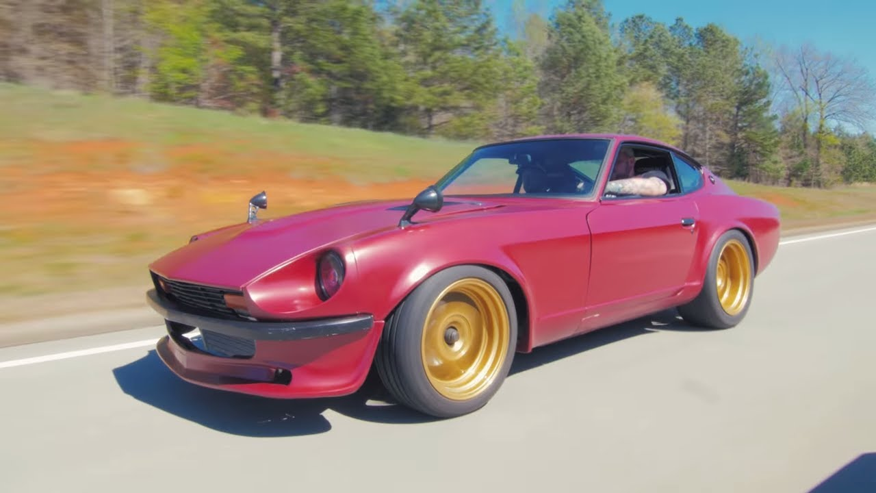 535 HP RB25 Datsun 280Z Review! - The Nissan Skyline's Crazy Brother ...