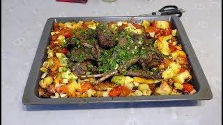 Рецепт приготовления зайца в духовке с овощами
