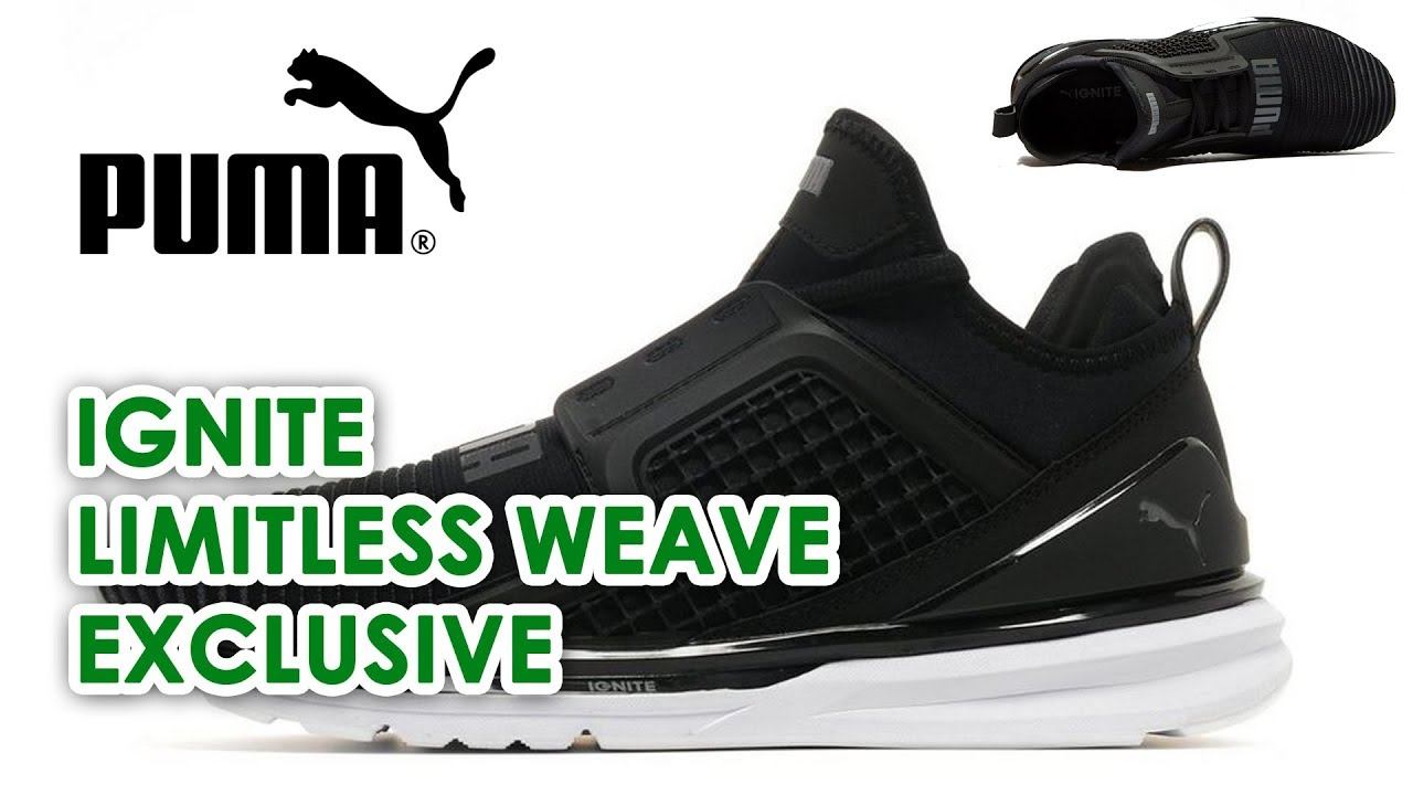 003818cd755 Puma Ignite Limitless Weave Lifestyle Trainers - Worn by The Weeknd JD  Sports exclusive sneaker