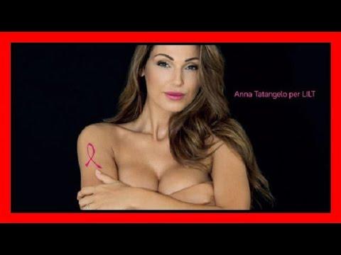 Calendario Tatangelo.Anna Tatangelo Nuda Per La Lilt Scatta La Polemica Sui Social
