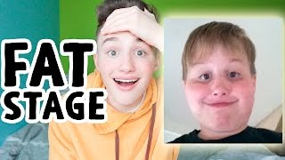Reacting to when I was FAT!