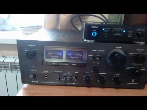 усилитель Akai Am-2850 и 75ас-001