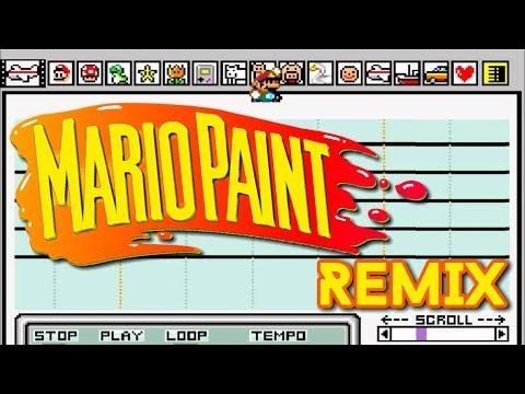 Mario Paint - BGM1 (Ben Briggs Remix)