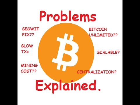 Bitcoin's Problems Explained