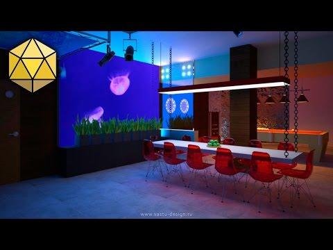 Васту дизайн интерьера «Море»