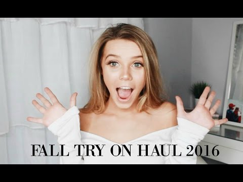 FALL TRY ON HAUL 2016 | Princess Polly, Brandy Melville and Urban Outfitters!