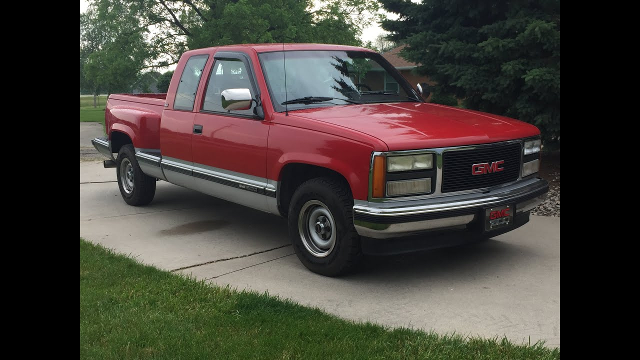 1992 gmc sierra 1500 step side ext cab walk around youtube 1992 gmc sierra 1500 step side ext cab walk around