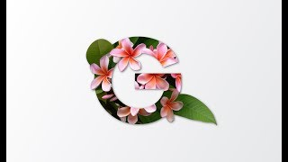 Learn Floral Typography in Adobe Illustrator CC