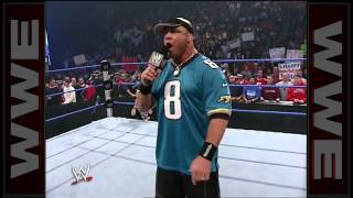 Kurt Angle does his best John Cena impersonation: SmackDown, October 16, 2003