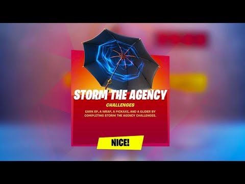 3 *FREE* REWARDS NOW IN FORTNITE! (Storm The Agency)