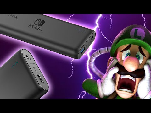 Nintendo Switch Gets New Dedicated Battery Packs  Up At Noon !