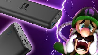 Nintendo Switch Gets New Dedicated Battery Packs - Up At Noon Live!