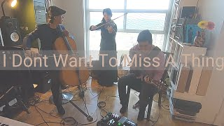 I Don't Want To Miss A Thing (Aerosmith) - Violin, Guitar, and Cello trio instrumental cover